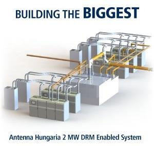 2 Megawatt Transmitter for Antenna Hungária - Nautel Broadcast
