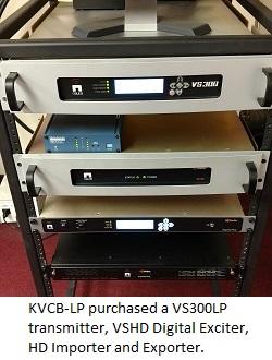 KVCB-LP VCS VS HD Rack