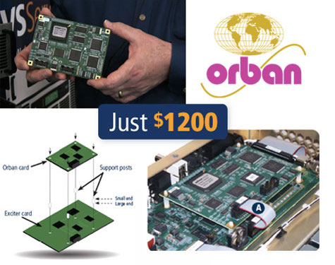 VS Series transmitter - Orban Inside PROMO